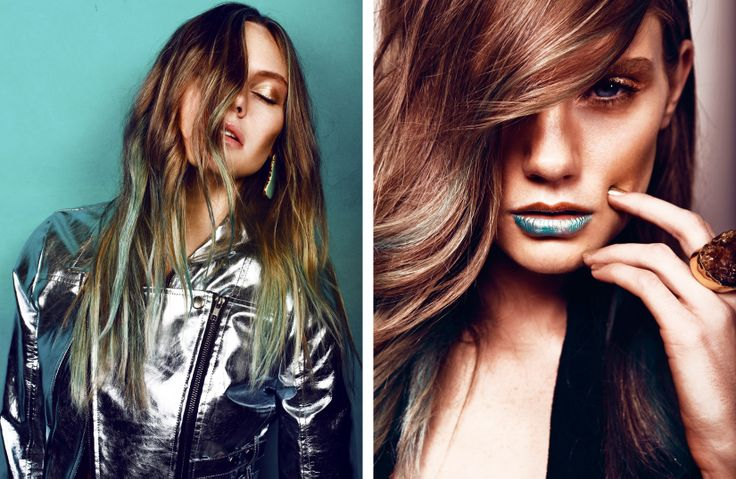 Jewellery by Kate McCoy in 'Azure' photoshoot for Papercut Magazine