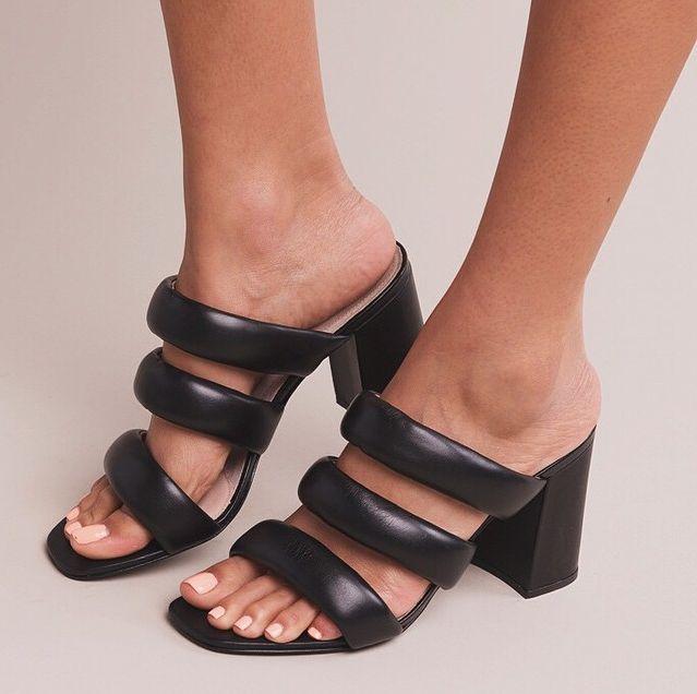 the Kelly pillow slide heel by KATE BOSWORTH | Matisse http://www. Kate  BosworthMatisseBlack HeelsFootwearThe ...