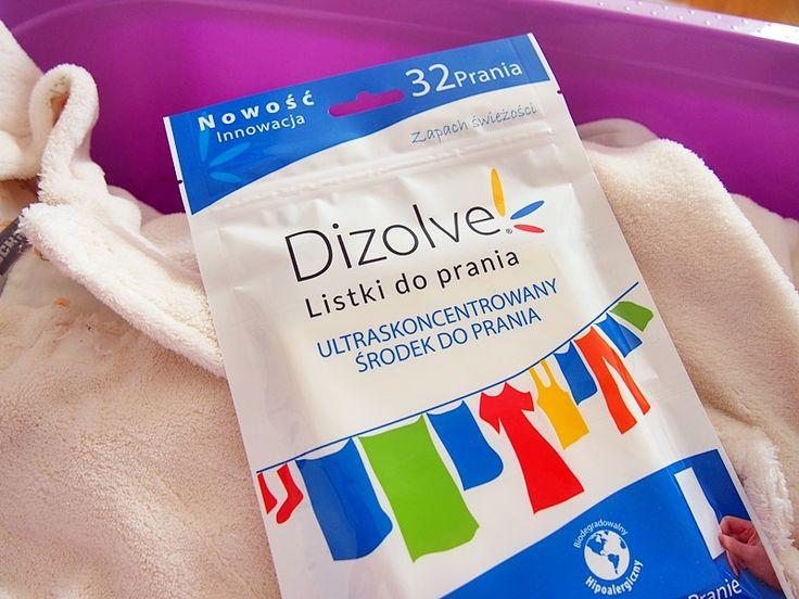 Dizolve - ekologiczne listki do prania