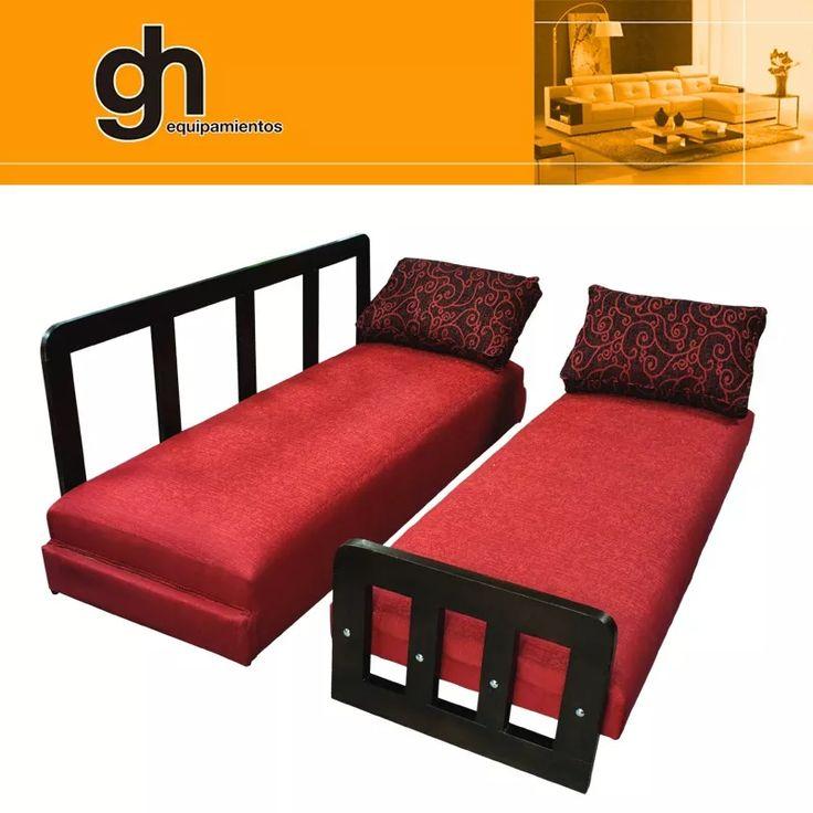 17 mejores ideas sobre cama 1 plaza en pinterest cama de for Sillon cama de 1 plaza