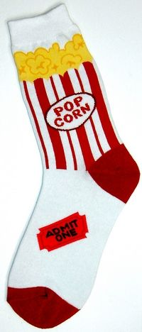 Novelty Socks for Women | Popcorn Women's Socks