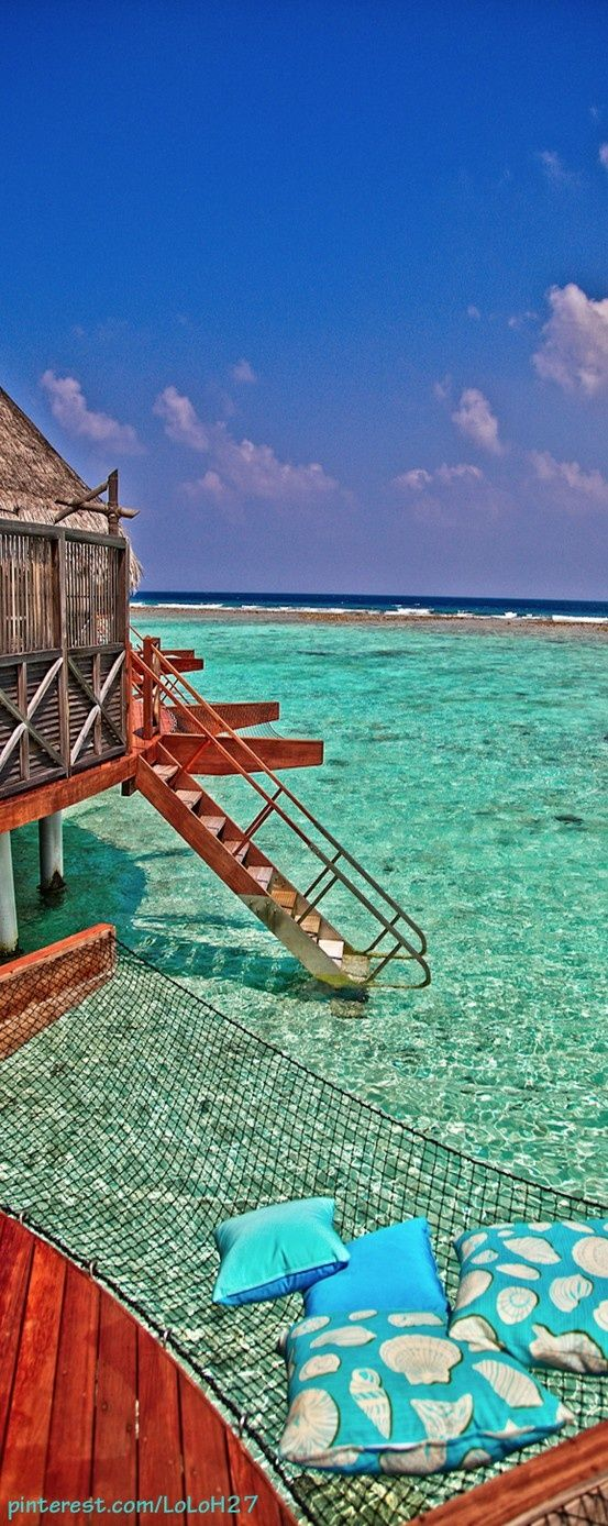 Maldives. Lets go swimming?