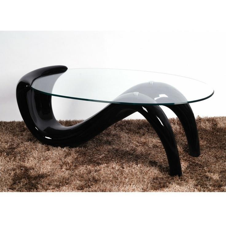 Pike High Gloss Gl Coffee Table Furniture Trends Uk