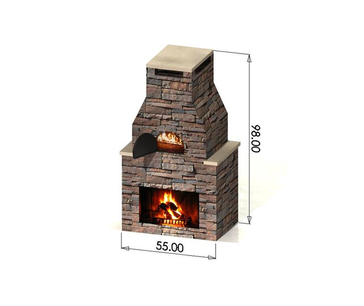 outdoor pizza oven with fireplace - Google Search
