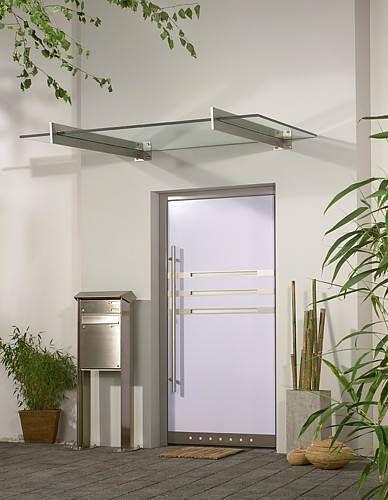 Modern glass canopies