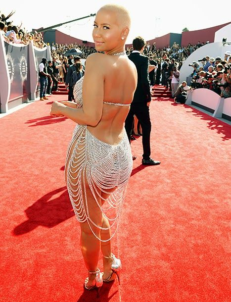 WOW ...Amber Rose....So Sexy @ The VMA's