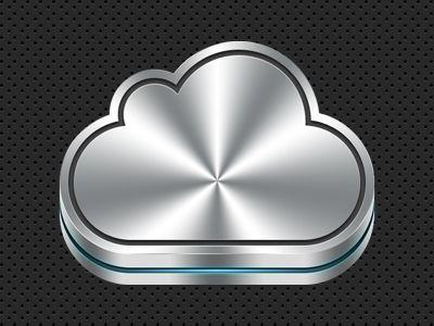 Иконка iCloud #psd #design