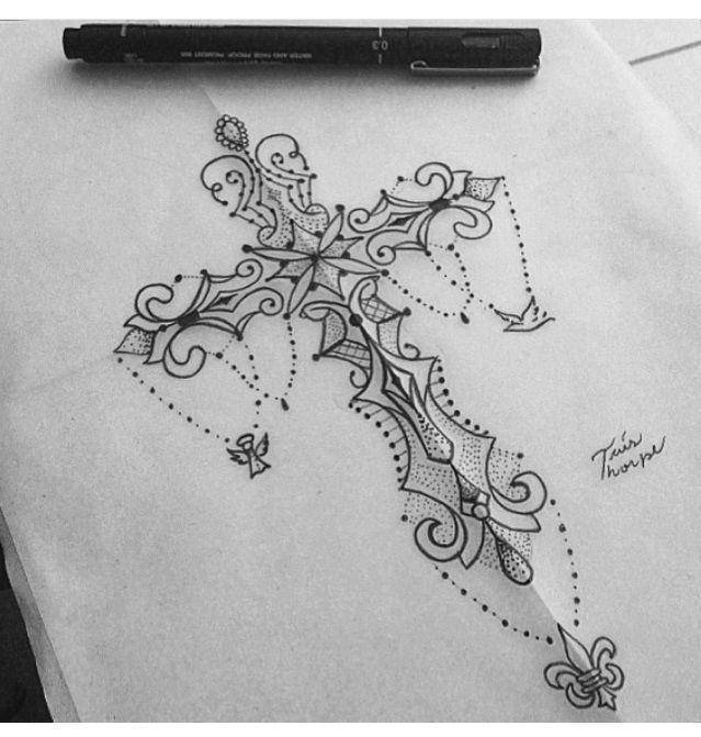 Tatuagem - Cruz