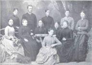Docentencorps Middelbare Meisjes School rond 1890