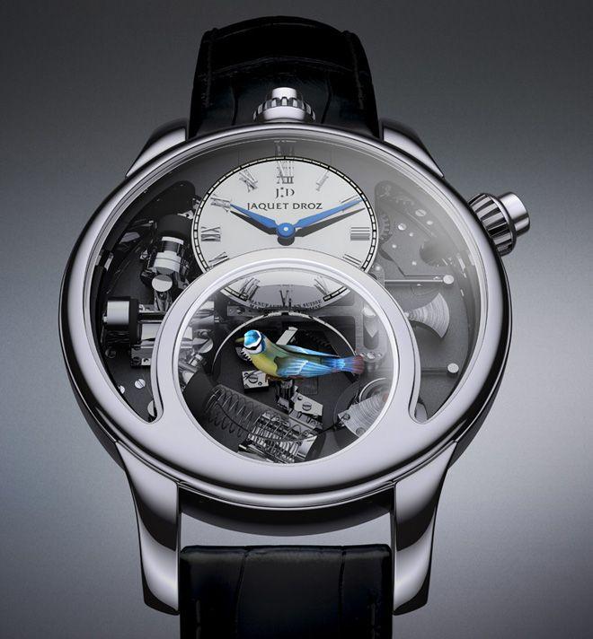 The Charming Bird: Luxe horloge dat fluit als een vogel