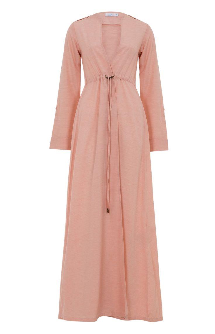 Aab UK Shirted Kimono Peach : Standard view