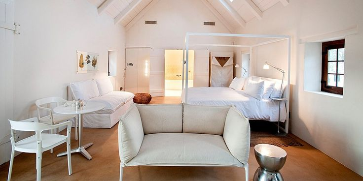 Babylonstoren Farm hotel cottage. Franschhoek, South Africa