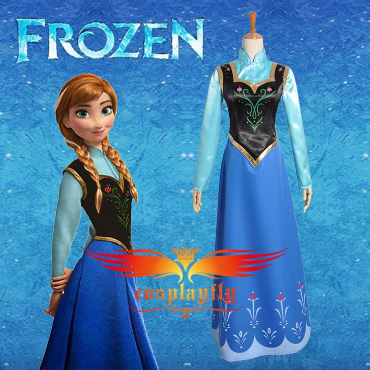 Disney Movie Frozen Snow Queen ANNA Dress And shirt Cosplay costume For Adult in Clothes, Shoes & Accessories, Fancy Dress & Period Costume, Fancy Dress   eBay
