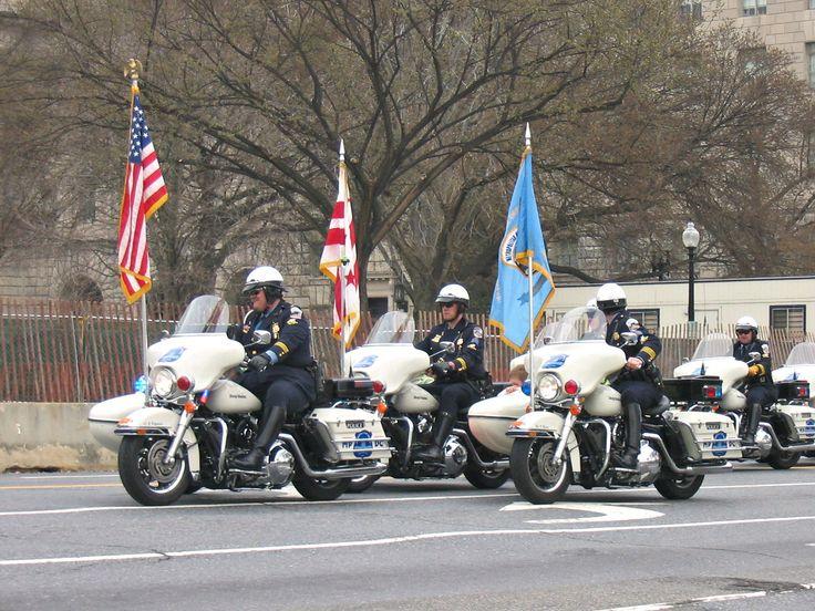 https://flic.kr/p/Qyx9gS | Metro Police on Parade | Saint Patrick's Day Parade, Washington DC 2006