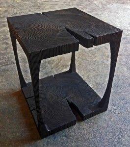 DnA Design Pick: Stefan Bishop's Handcarved End Table | Design & Architecture