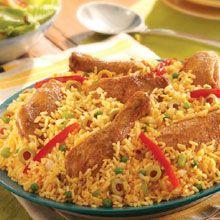 Receta de Arroz con Pollo - Blog De Cocina Chicken & Rice