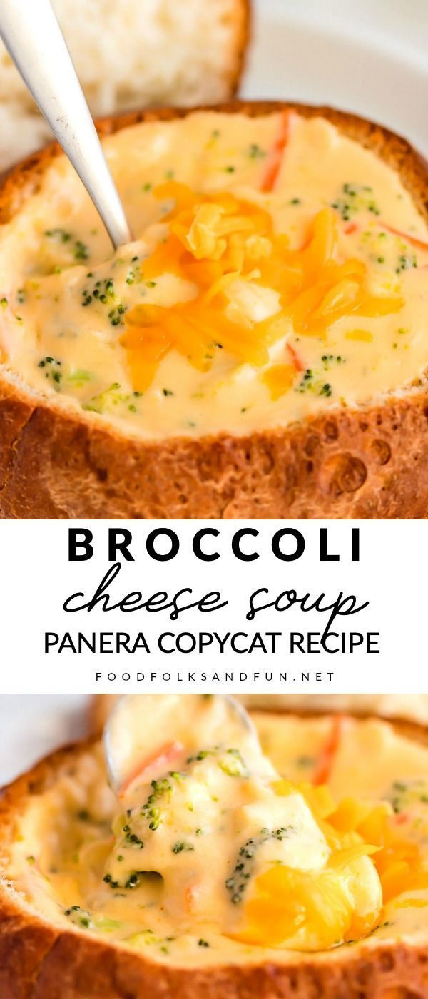 Mar 22, 2020 – This Copycat Panera Broccoli Cheese Soup recipe tastes just like the original! Save money by making this …