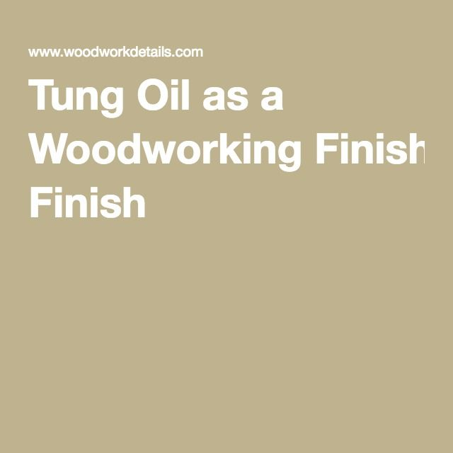 Excellent instructions on applying Tung Oil, even without a solvent