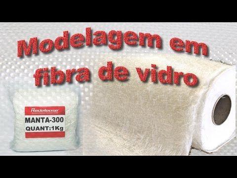 Moldagem em fibra de vidro - Peça maciça - YouTube