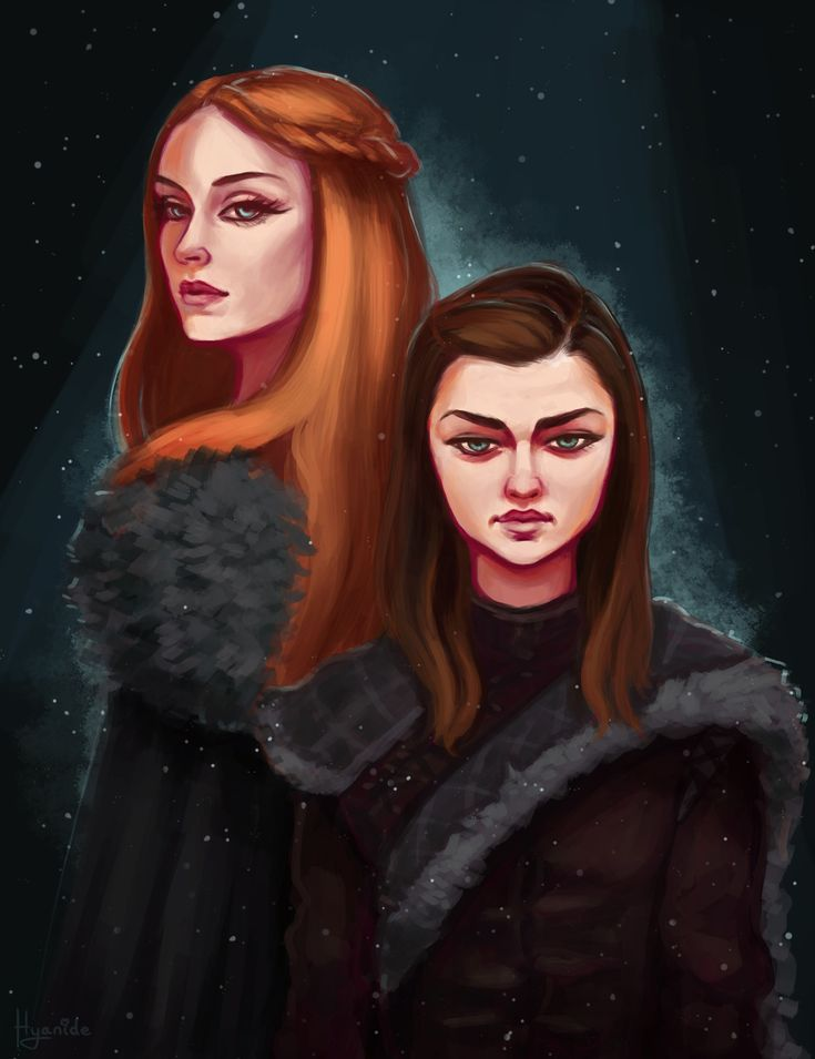 The Stark Girls, Hyanide . on ArtStation at https://www.artstation.com/artwork/rwxYL