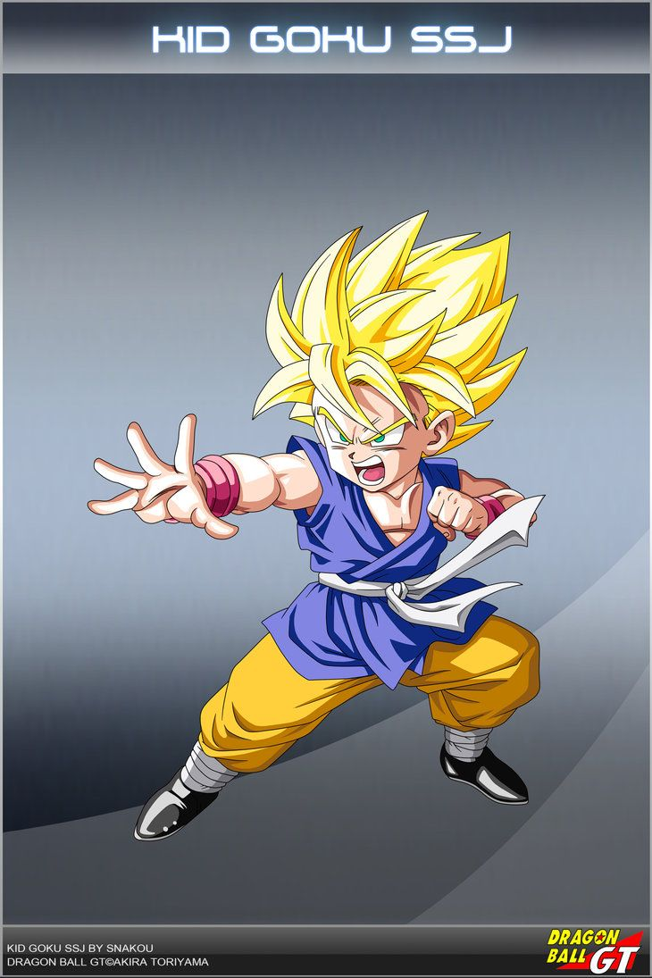 Dragon ball gt kid goku ssj g by dbcproject on deviantart - Dragon ball gt goku wallpaper ...