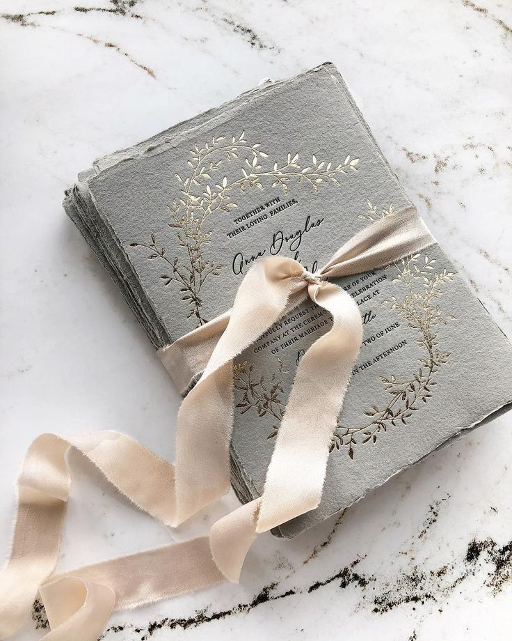 "papira on instagram ""gold foil press on grey handmade"