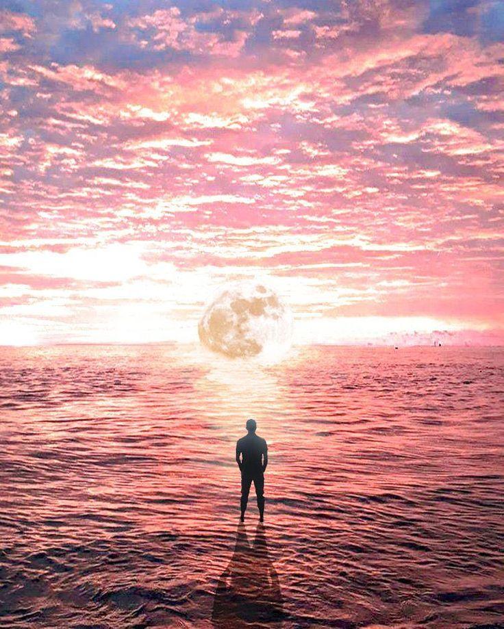 Semua keindahan hanya milikNya... Sunset dan bulan sebelum gerhana (edit photoshop) ________________________ Lok: Balikpapan. If: @julian_dwi_arifianto ________________________ #balikpapan #balikpapanku #inibalikpapanbosku #anakmudabpp #ig_color #sunset #moon #sky #photography #photoshop #photoshopindonesia  #instafame #instagram #landscape #landscapephotography #landscaper #tv #mood #imagination #enterimagination #awesome_earthpix #amazing #bestpicture #photooftheday #cinematic #discovery…