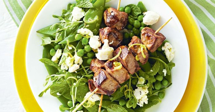 Try these tasty lamb skewers with lemon-fetta dressing. They are perfect for those nights when you are short on time.