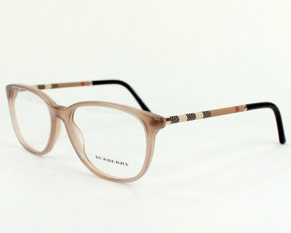 Burberry eyeglasses BE 2112 3012 Acetate plastic Beige
