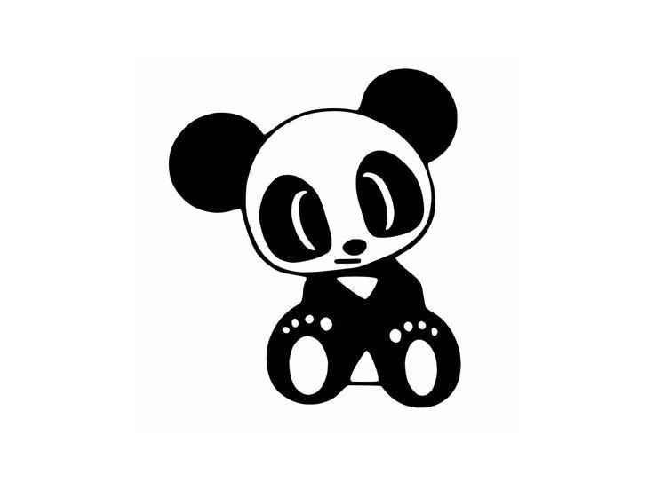 123 best pandas images on pinterest panda panda bears - Dessins de panda ...