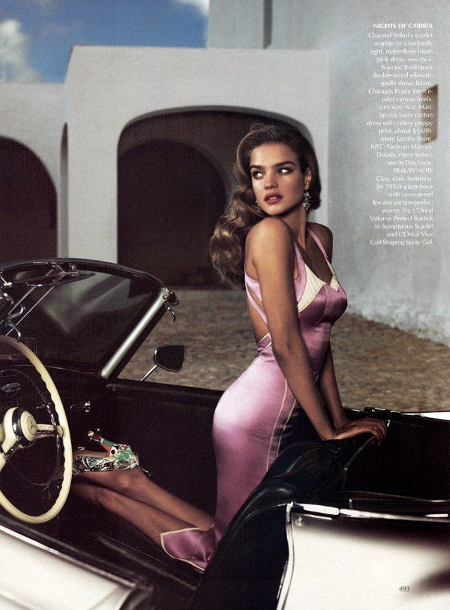 Natalia Vodianova by Mert & Marcus for Vogue (US) March 2004