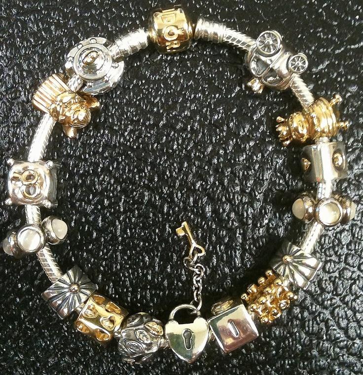 Garrison Orlando Pandora Bracelets Silver Love Birds Pandora Charms
