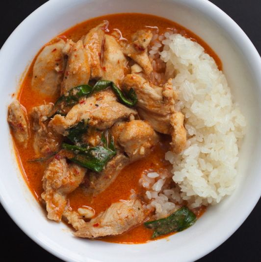 Chicken Panang Curry – The Foodee Project