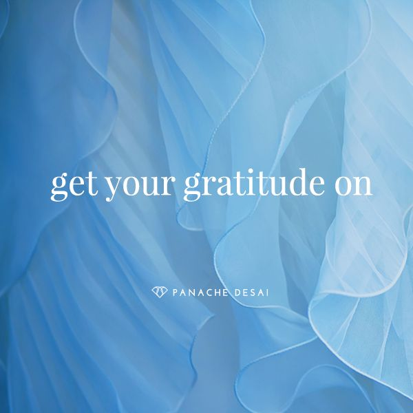 Give thanks for the beauty, magnificence, joy, and the precious little things in your life.