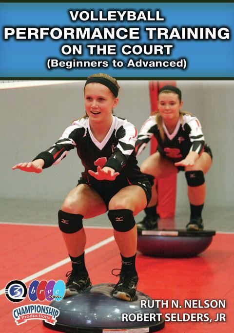 Volleyball Performance Training on the Volleyball Court (Beginners to Advanced)