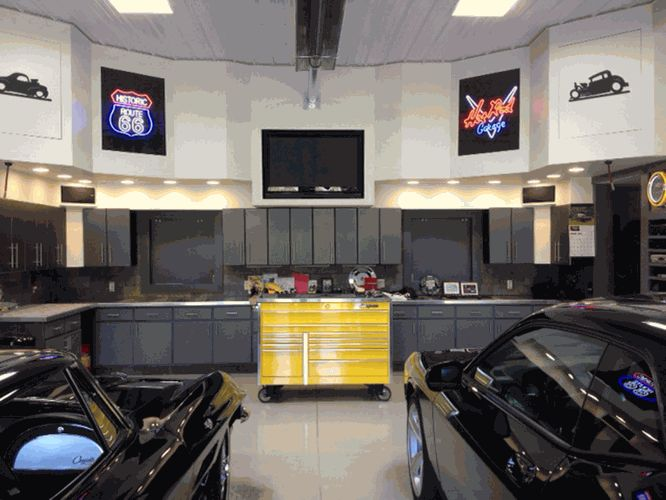 ultimate man cave garage - photo #33