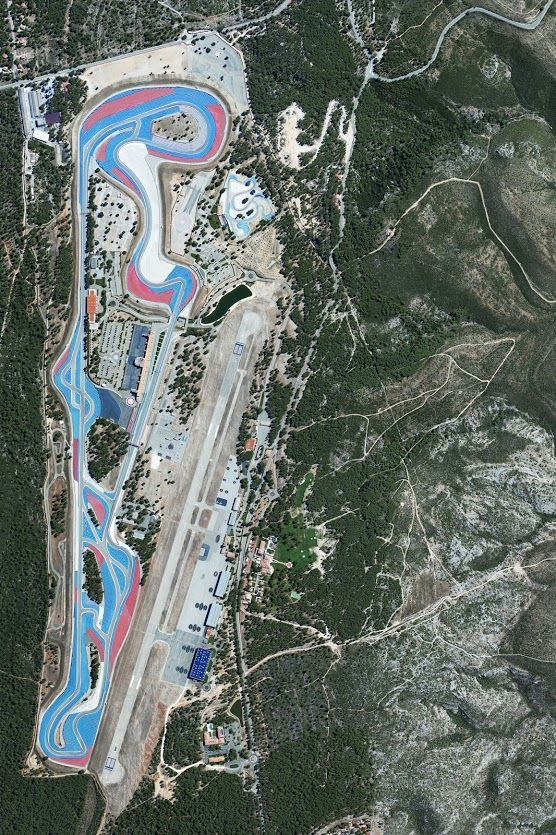 Circuit Paul Ricard, Le Castellet, France Earth