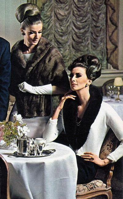 Angela Howard and Wilhelmina, who founded Wilhelmina Models in 1967