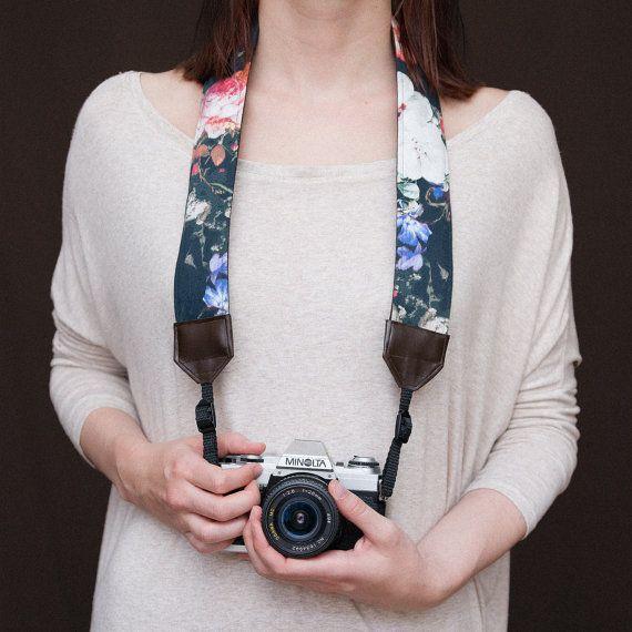 Lily's strap  Brun  Courroie pour appareil photo par Strapery