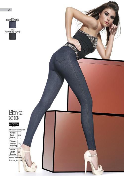 BLANKA Designer Leggings imitating skinny jeans, very durable and comfortable, made in Europe. http://www.avec-moi.com.au/index.php/leggings-footless/blanka-200-den-detail