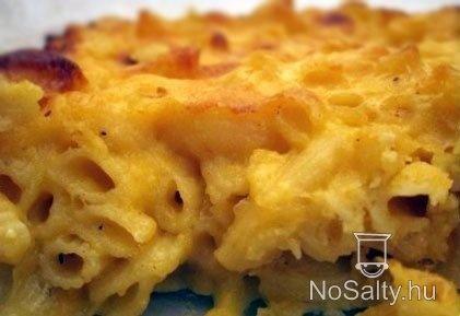 Mac and Cheese, avagy az amerikai sajtos tészta
