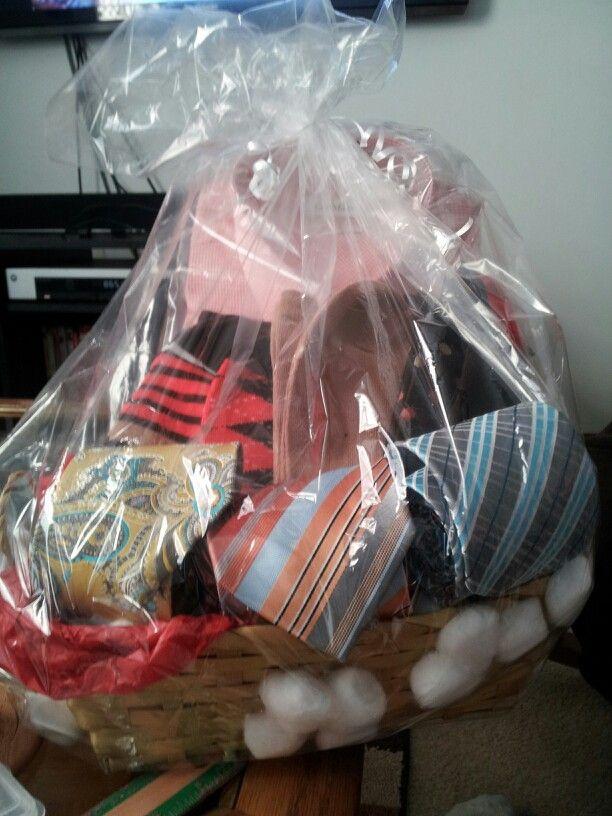 2 year wedding anniversary gift basket for my husband ...
