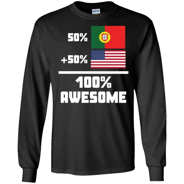Hi everybody!   50% Portuguese 50% American 100% Awesome Funny Flag T-Shirt - Long Sleeve Tee https://vistatee.com/product/50-portuguese-50-american-100-awesome-funny-flag-t-shirt-long-sleeve-tee-2/  #50%Portuguese50%American100%AwesomeFunnyFlagTShirtLongSleeveTee  #50%Awesome #Portuguese #50% #AmericanT #100%LongTee #AwesomeFunnyLong #FunnyShirtSleeve #Flag #TLongTee