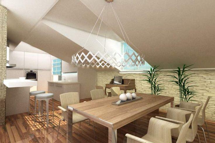 Mieszkania na poddaszu są zawsze dużym wyzwaniem dla architekta. Duże powierzchnie skosów dominują we wnętrzu, dobry projekt zakłada wykorzystanie cech wnętrza jako atut a nie jako wada mieszkania. Jasna kolorystyka, […]