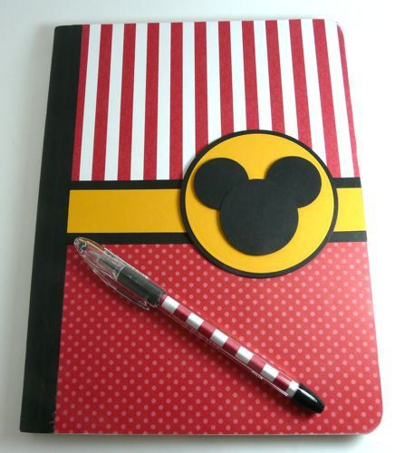 This is an altered composition book!  (Great idea for a journal ... or ???