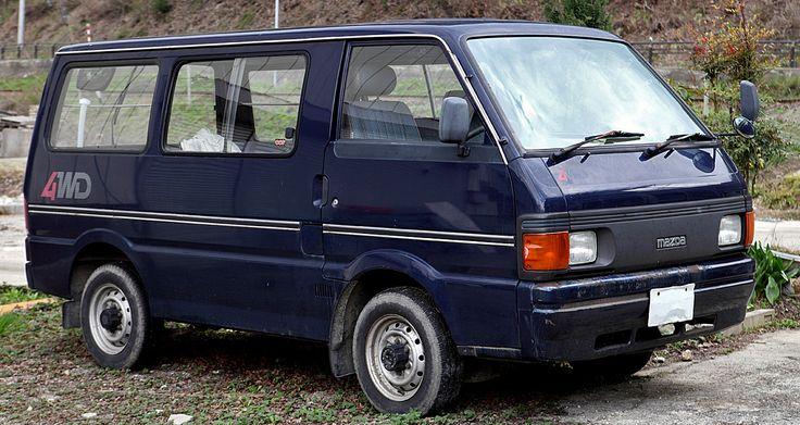 Mazda Bongo 301 - Mazda Bongo - Wikipedia, the free encyclopedia | Mazda bongo, Mazda, Bongo