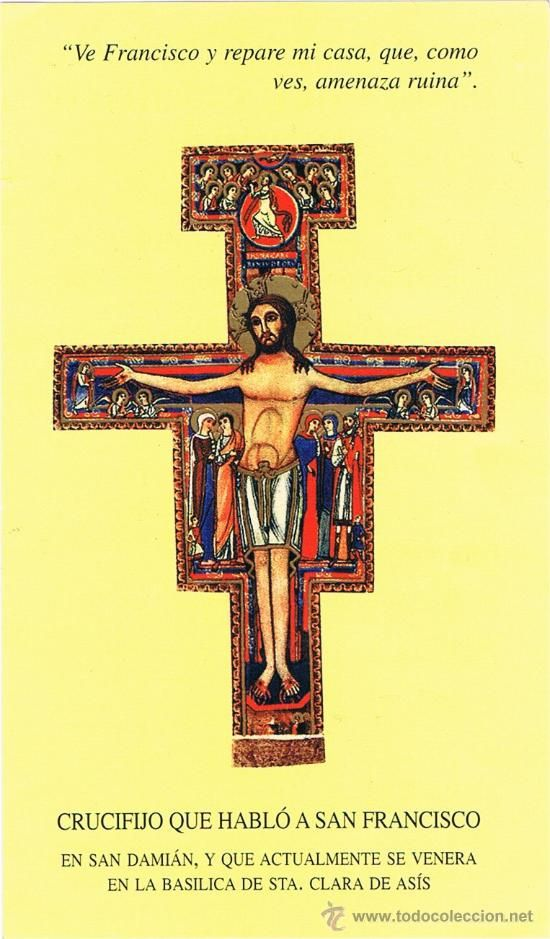 Crucifijo que hablo a san Francisco de Asis