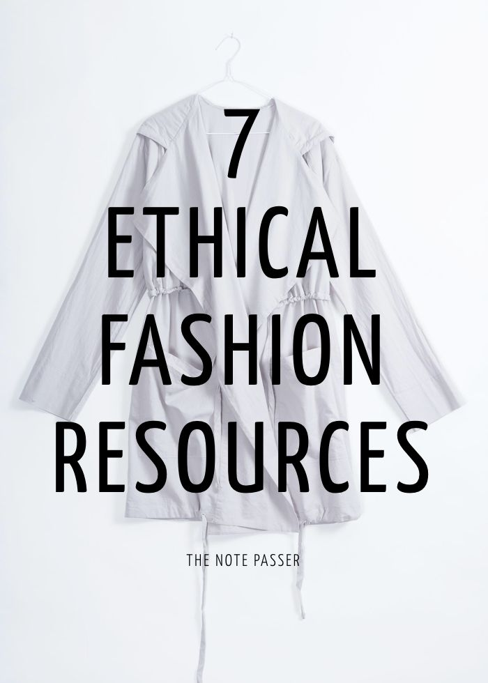 As I search for ways to be a more ethical consumer, I've found some  resources that are both helpful and informative. I want to pass them along  because, well, that's what I do. And because I hope I'm changing some  hearts on this whole ethical fashion issue and if so, you're going to need  these sites:  1.  Clean Clothes Campaign  Since 1989, the CCC has worked to help ensure that the fundamental rights  of workers are respected. We educate and mobilise consumers, lobby  companies and…
