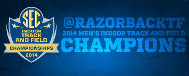 The University of Arkansas Razorbacks men's track and field team was crowned the 2014 Southeastern Conference Champions on Saturday.…
