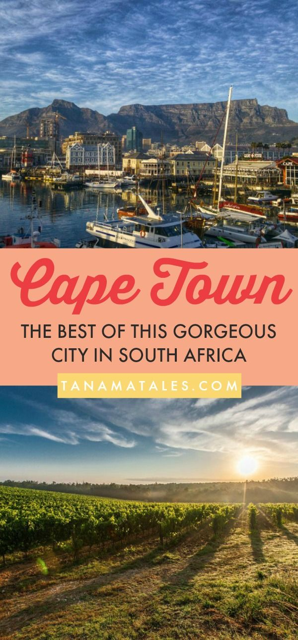 Things to do in Cape Town, South Africa - This guide to Cape Town presents recommendations from the perspective of a 30 year resident. Bianca covers everything from surreal landscapes to gorgeous beaches, from foodie hot spots to the best places to take photos. Get ready to be seduced by this beautiful city!